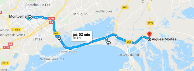 Montpellier to Grande-Motte