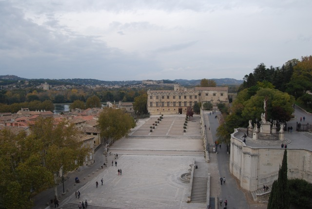 Palais Plaza from the POP