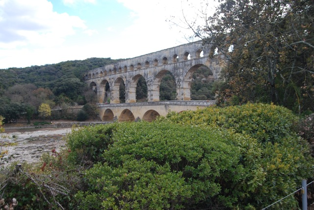 Pont du Gard Upstream