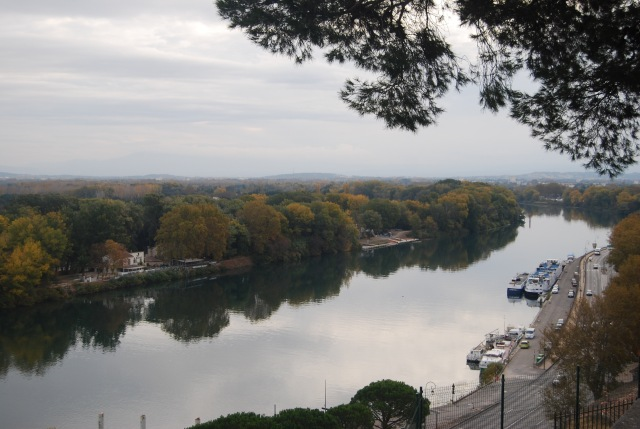 View of the Rhone