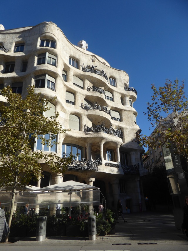 Casa Mila Up Close