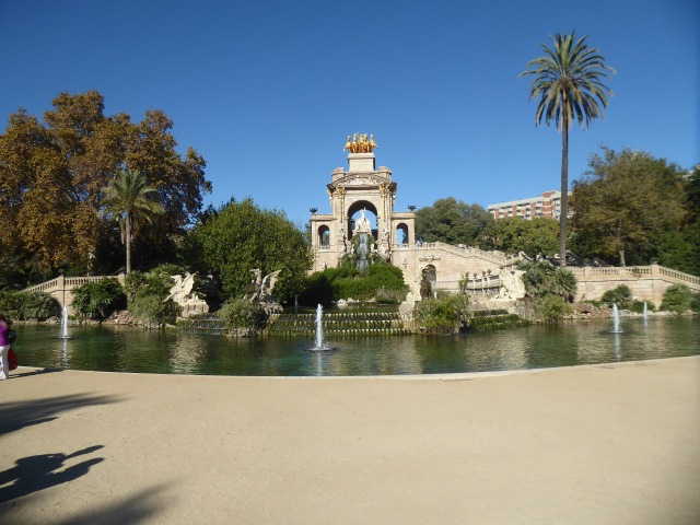 Fountain in Parc de la Ciutadella