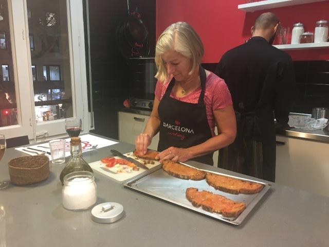 Joanna at Work
