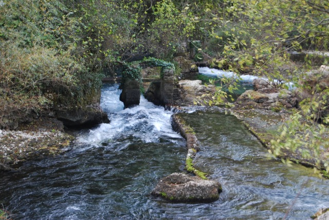 The Sorgue as it Leaves the Chasm