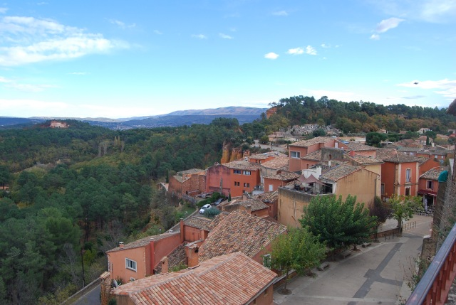 View of the Roussillon