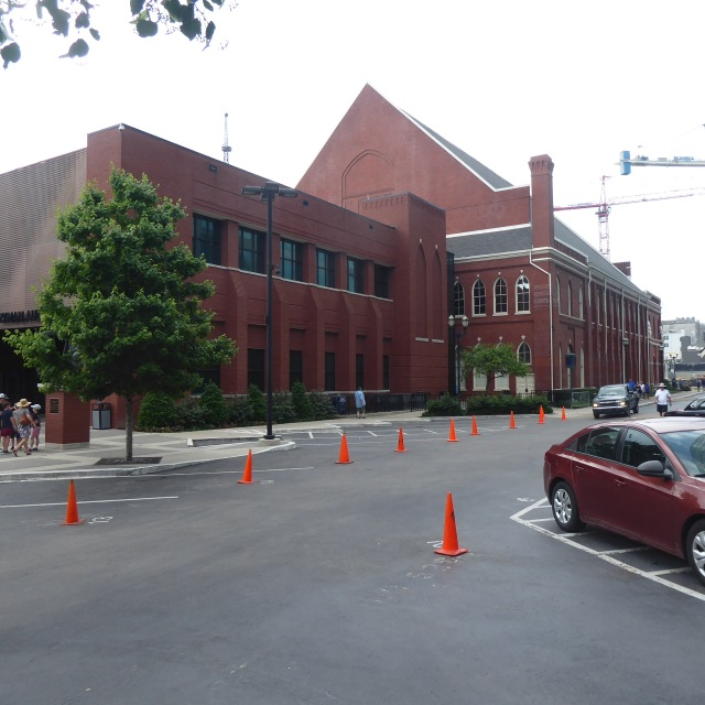 Back of the Ryman