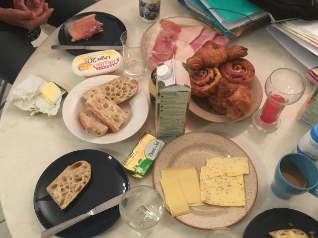 Breakfast November 1