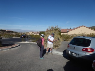 Marty and Joanna Preparing to Hike Thanksgiving Weekend
