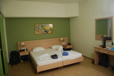 Our Room at Athina Beach