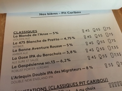 Pit Caribou's Own Beers