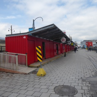 Shops in Shipping Containers