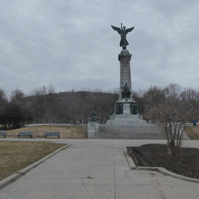 Statue at the Entrance to the Park