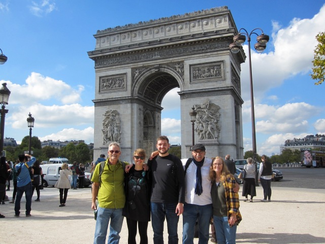 The Gang in Paris