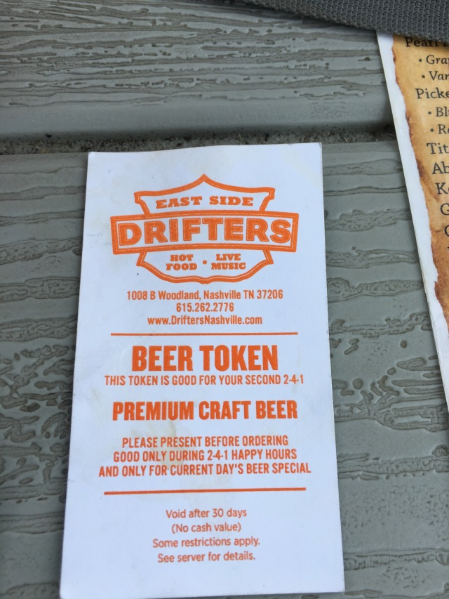 Happy Hour at Drifters