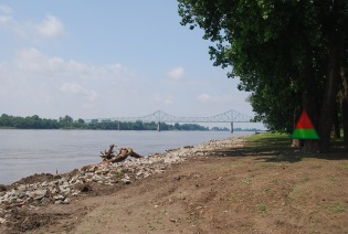 Looking up the Mississippi
