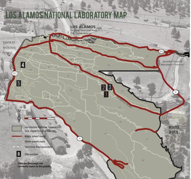 Los Alamos Park Map
