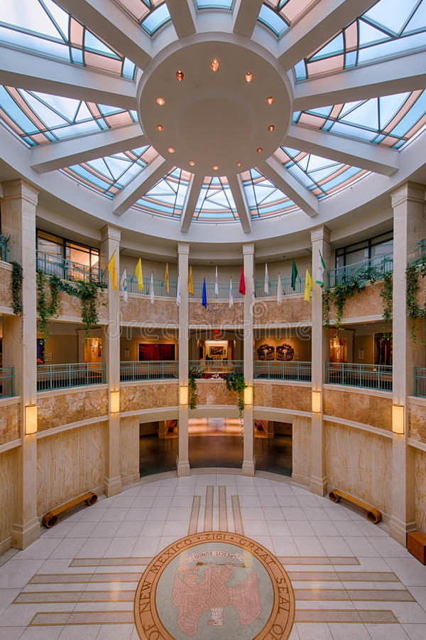 New Mexico State Capitol- Interior