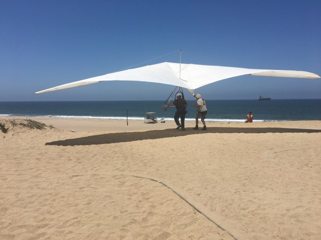 Hang Glider Launch