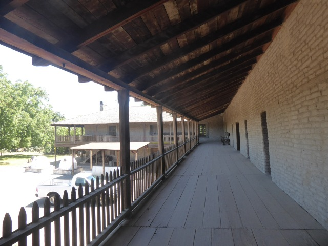 Second Story and Courtyard