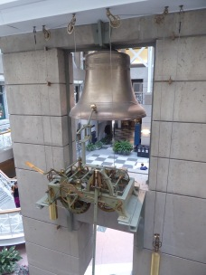 Historical Bell Hung in a Mall