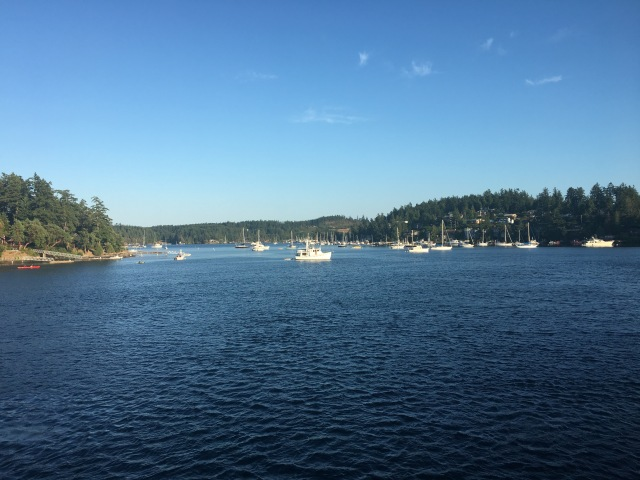 Pulling Into Friday Harbor