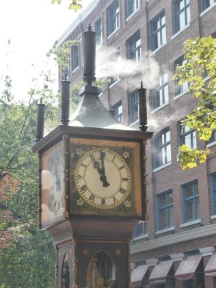 Steam Clock Up Close