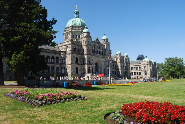 The British Columbia Parliament Building