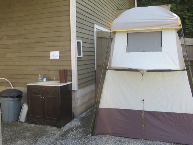 The Tent Shower