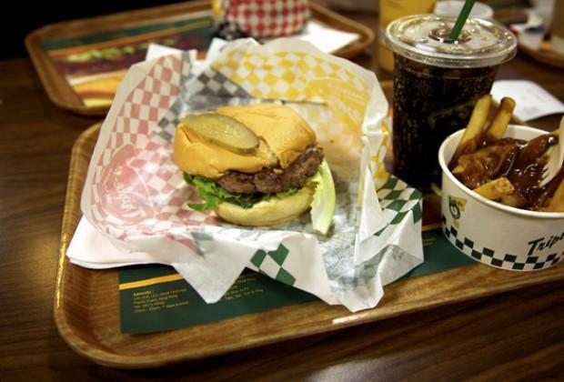 Triple O's Burger Combo