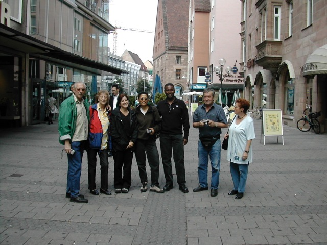 Irene and Ric in Nuremburg