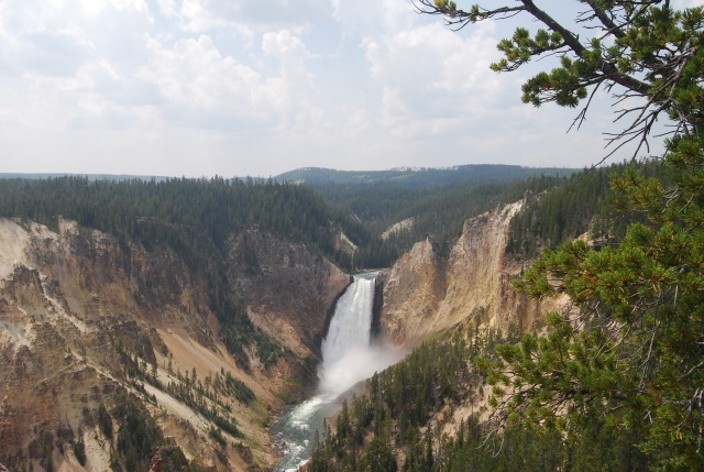 Lower Falls from Lookout Point