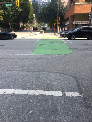 Vancouver Bike Lanes 1