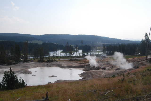 View from Mud Volcano