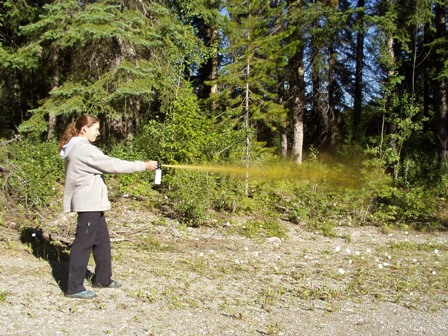 Use of Bear Spray