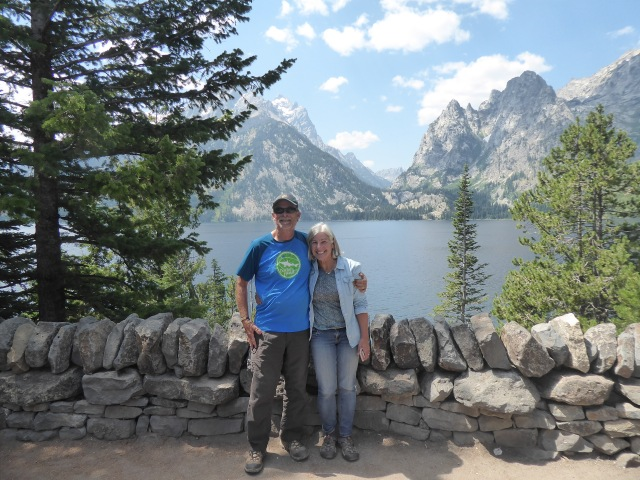 J and J at Jenny Lake