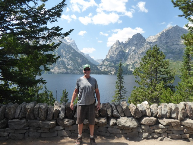 Rendy at Jenny Lake