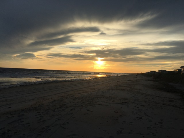 Oak Island Sunset