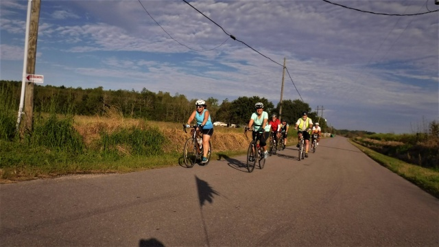 a group out on the road