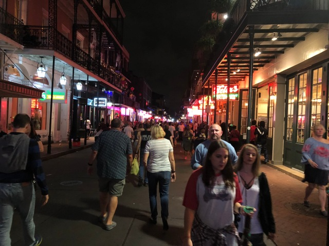 Kim and Marty on Bourbon Street