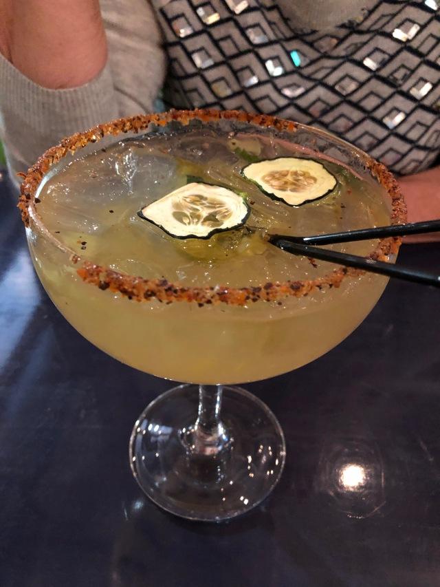 Cucumber Jalepeno Margarita