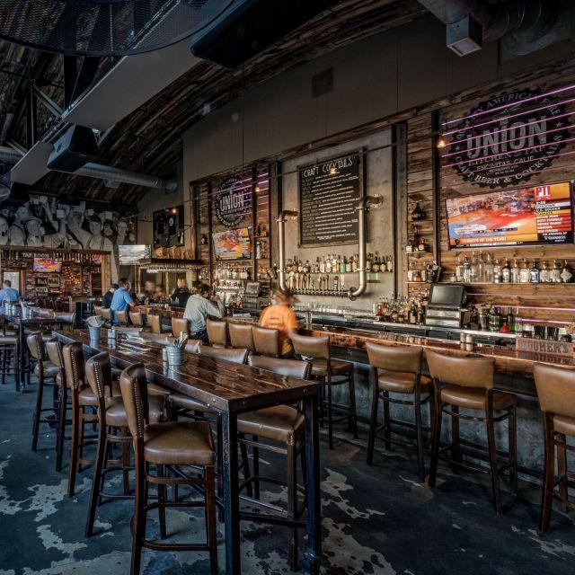 Long Table at the bar