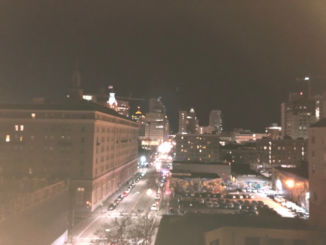 New Year's Eve from the Roof