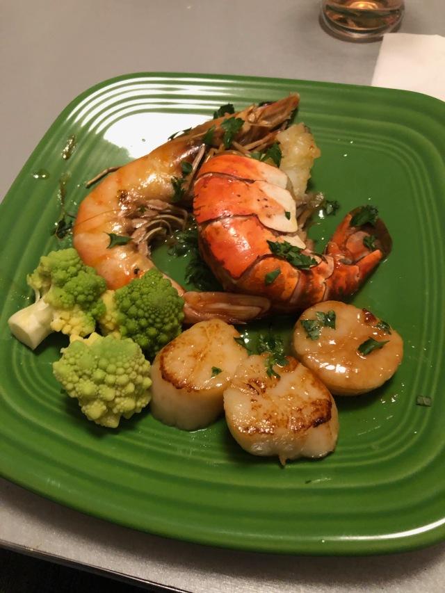 Scallops and Shrimp