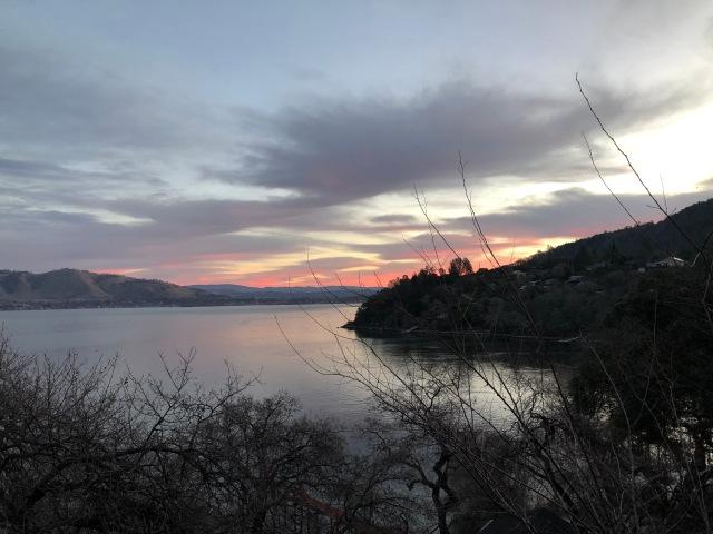 Sunrise at Clearlake