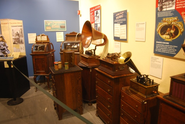 Record Players in the Museum