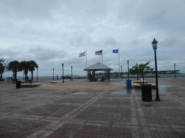Windy Morning at Mallory Square