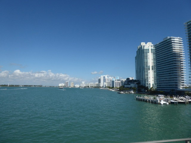 Miami Skyline from the Boat