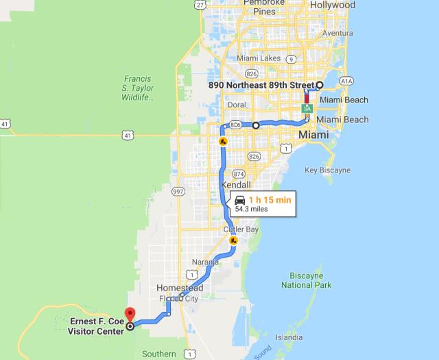 Miami to Everglades