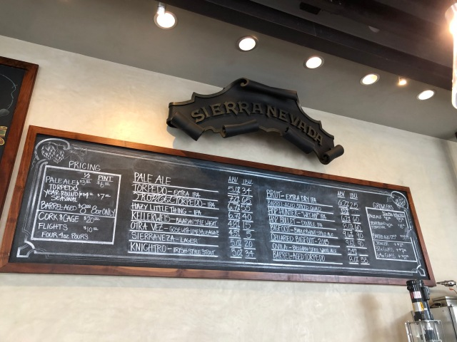 Sierra Nevada Tap Room Board