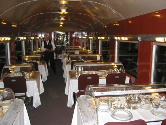 Dining Car with Place Settings